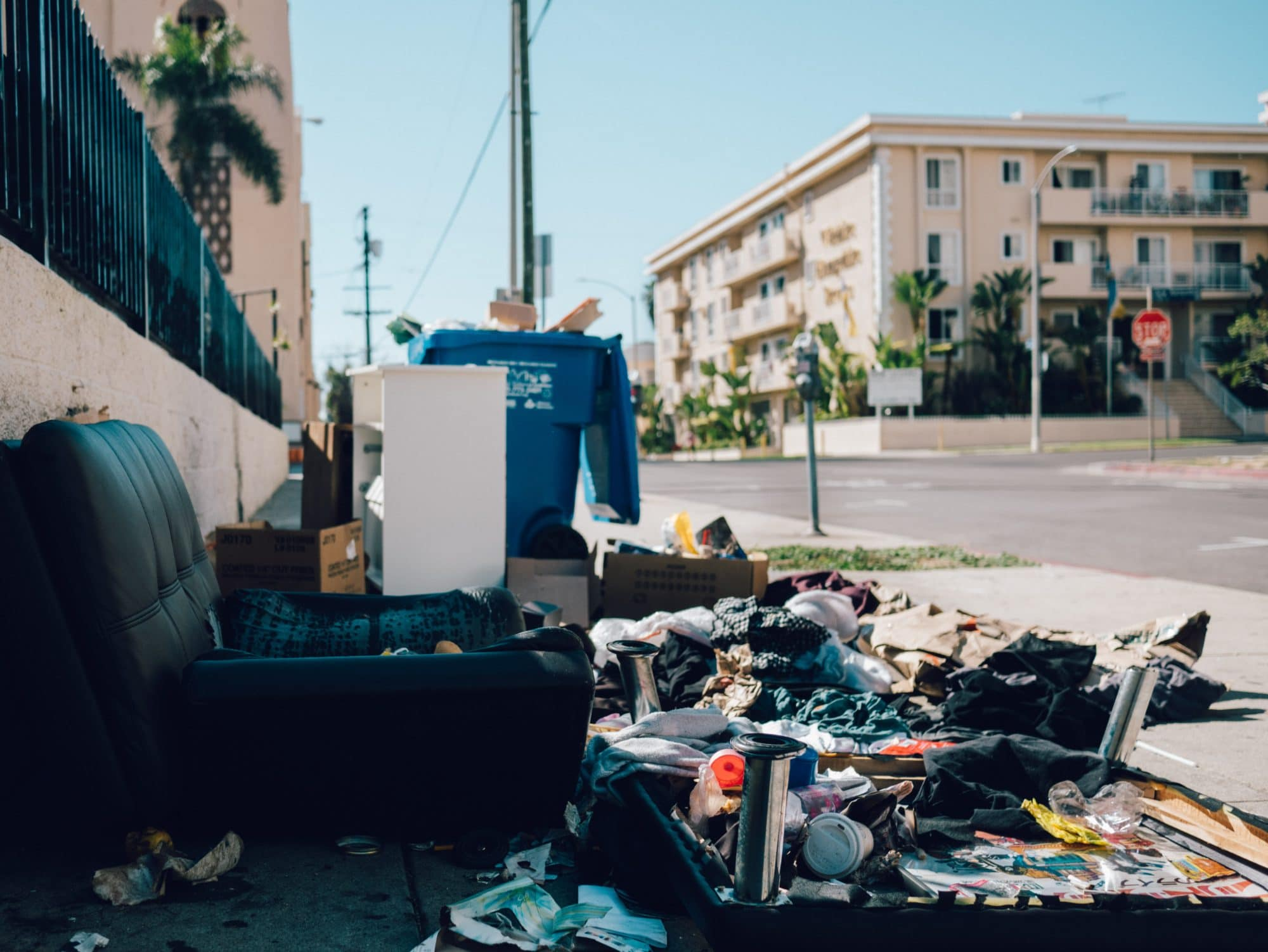 Garbage in California