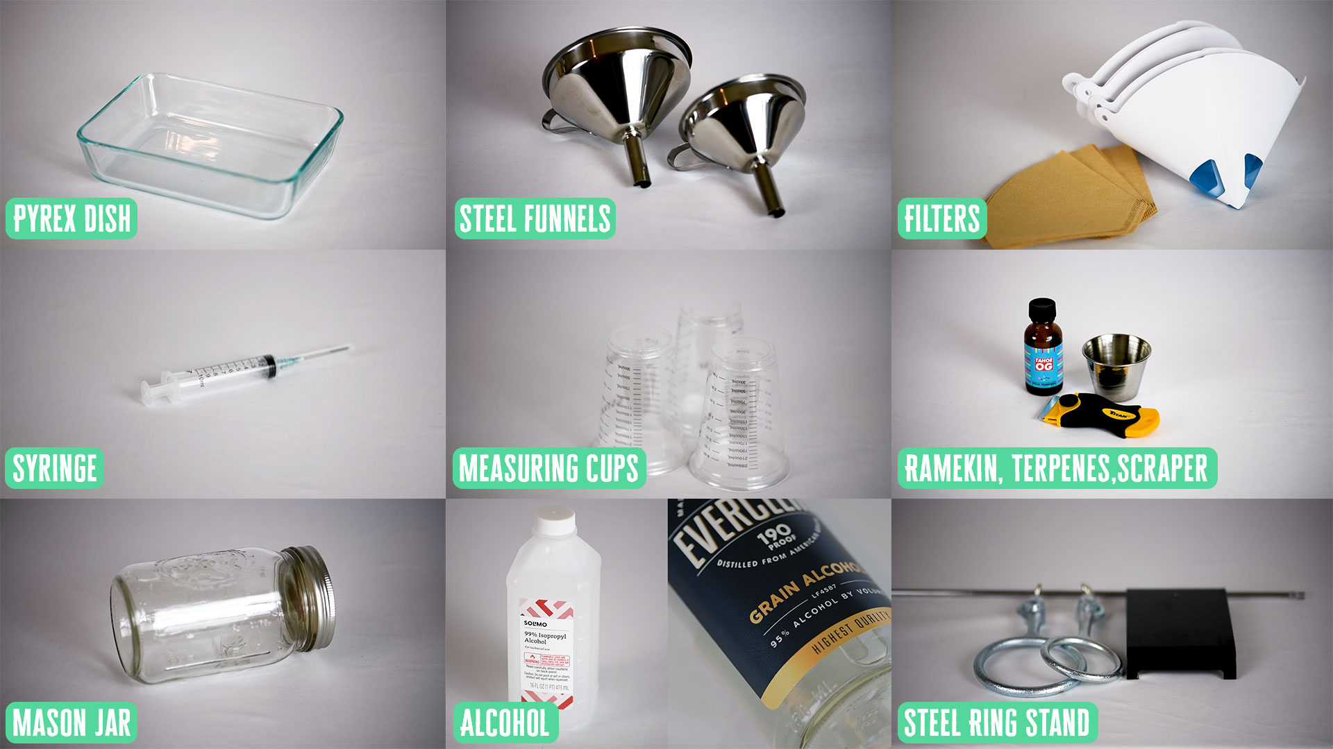 Make shatter at home with these supplies