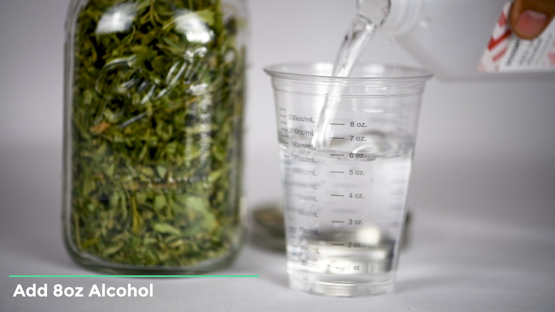 using alcohol to make cannabis shatter