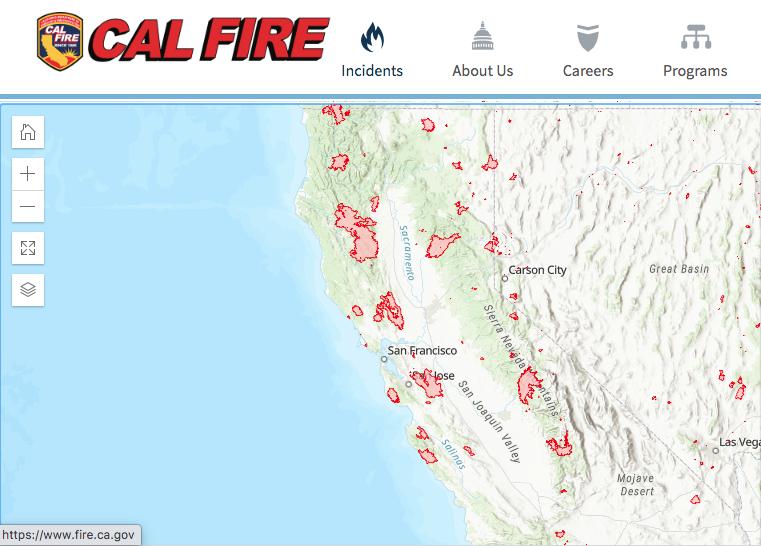 Cal fire update